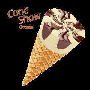 sorvete mareni cone show crocante